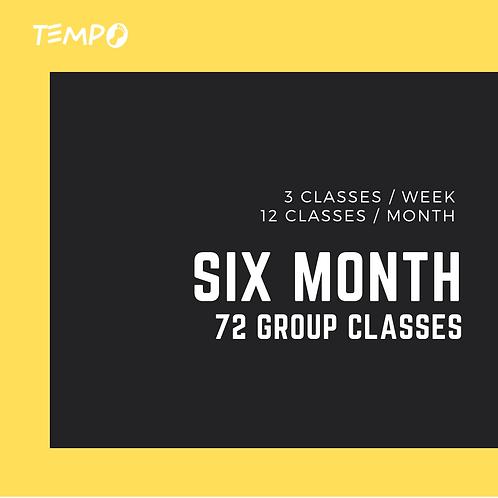 Six Month - 72 classes
