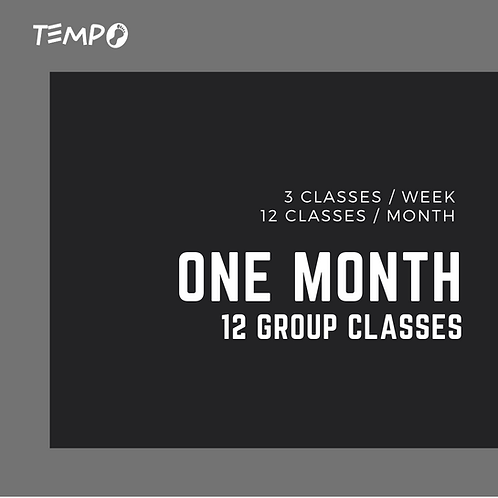 One Month - 12 Classes