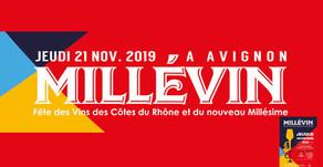 Millevin 2019, à la découverte du côte du Rhône nouveau