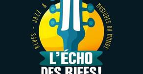 L'echo des riffs, un festival éclectique entre Jazz, Rock, Folk, Funk et musiques du monde