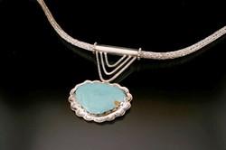 Roman Chain and Turquoise Pendant.jpg