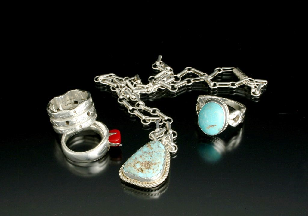 Turquoise NL and Ring, Coral Ring.jpg