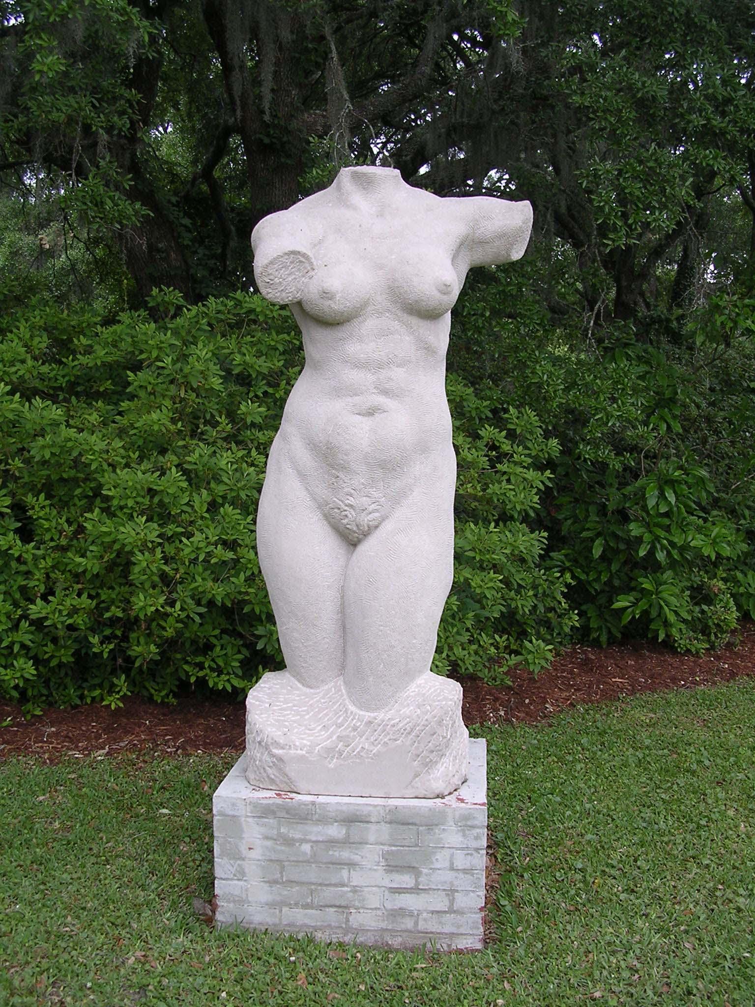 Statuary Limestone Torso