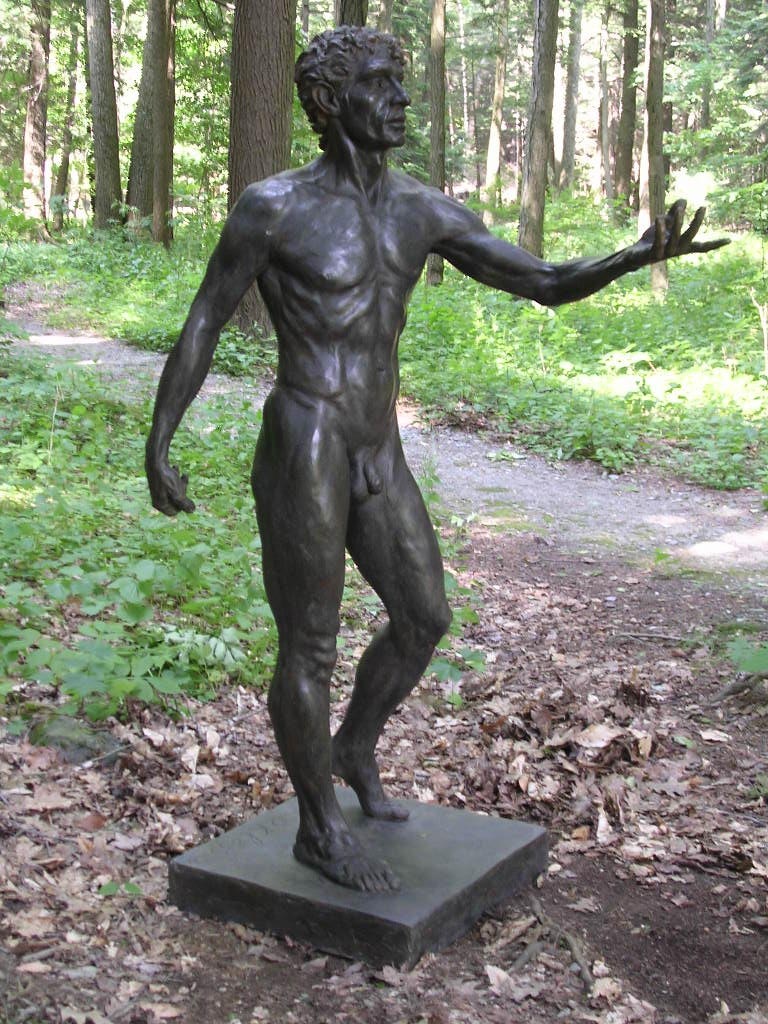 """Calling"" Life-size Figure in Bronze"