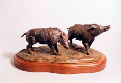 Wild Boars, Renaissance Style