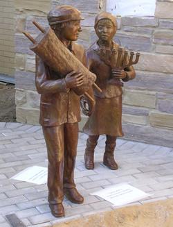 Children in Bronze