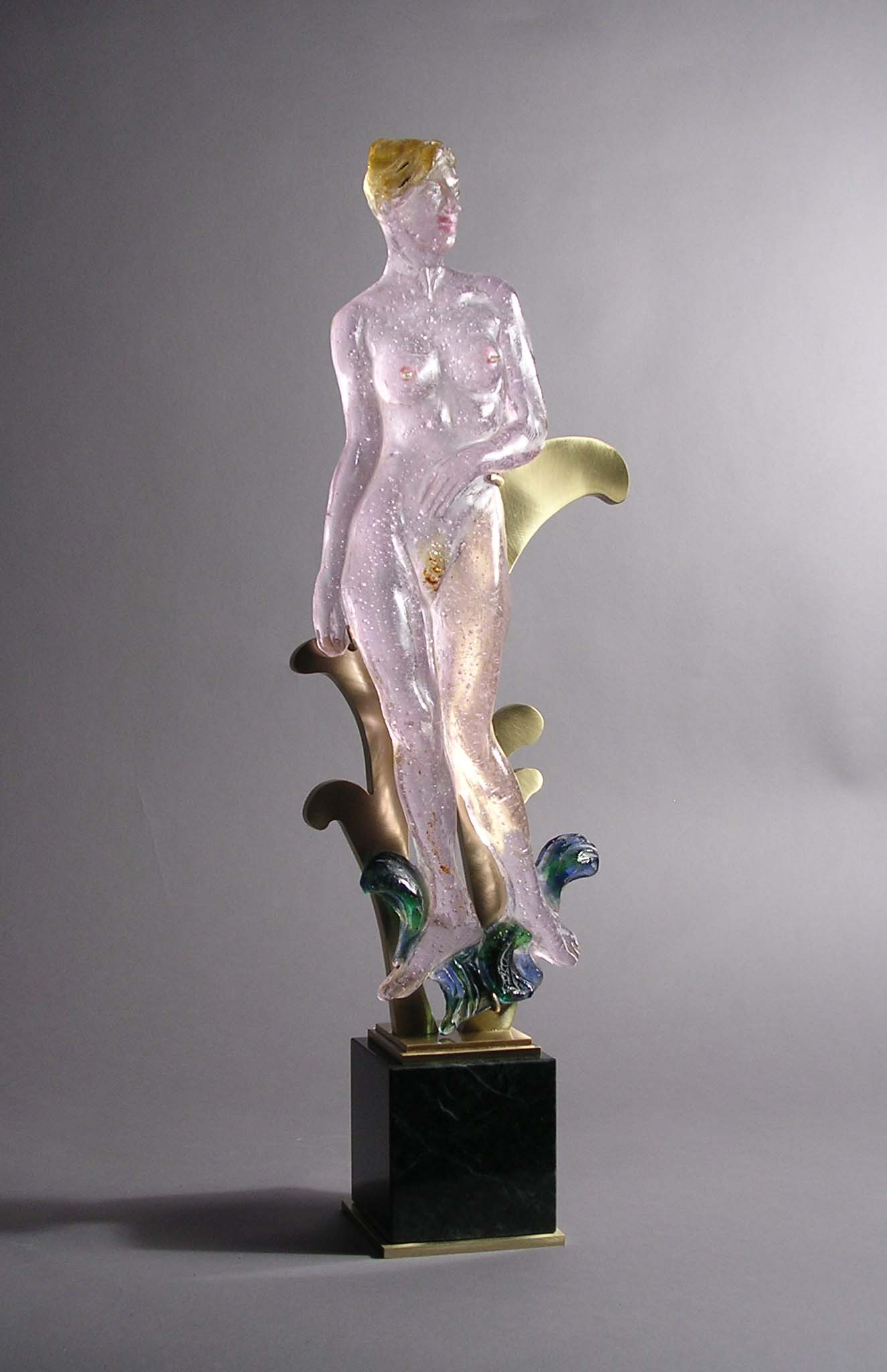 Glass Venus Figurine