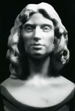 Marble Portrait of Joanne