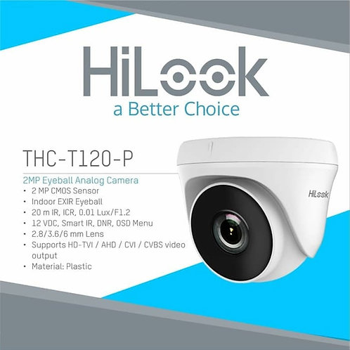 2MP EXIR Turret Indoor Camera / THC T220-P