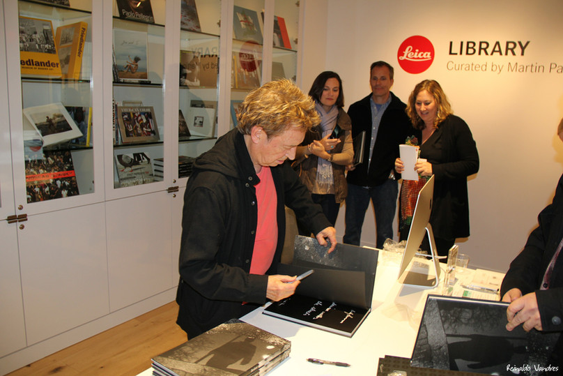Andy Summers Opening Exhibition DEL MOND
