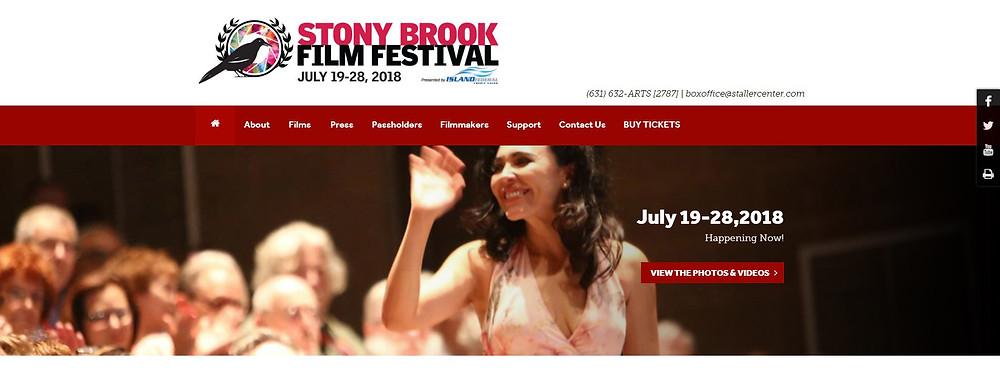 Actress Sandra Santiago Q&A The Estruscan Smile - Stony Brook Film Festival