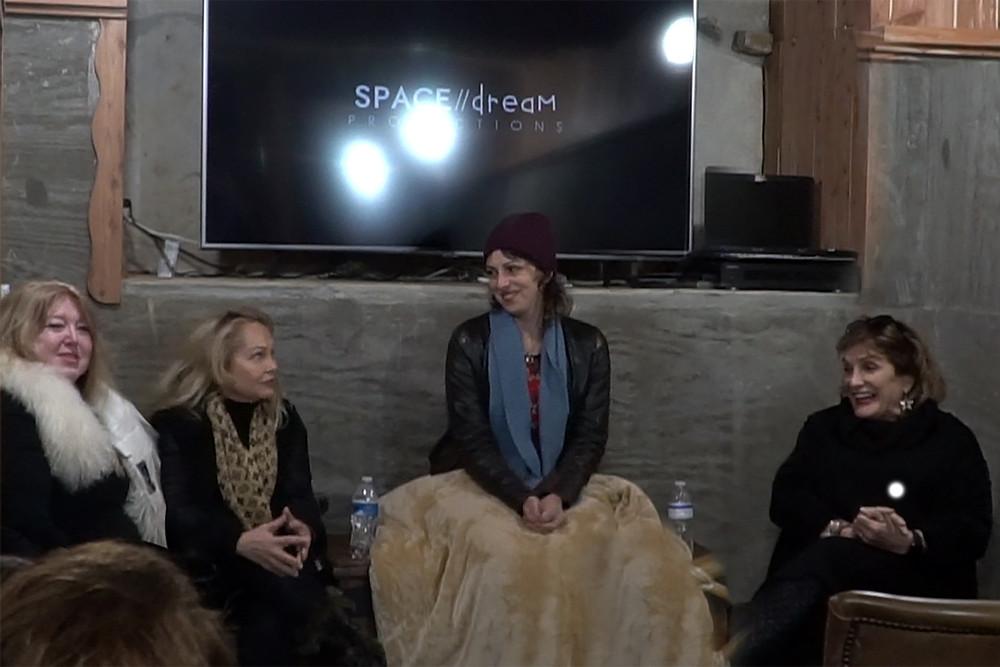 Producer & Director Koura Linda host Tennesse Women in Film Event in Johnny Cash basement