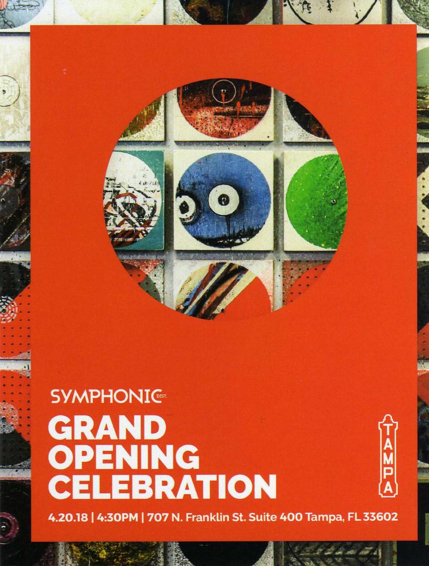 Symphonic Grand opening Celebration Tampa Theater
