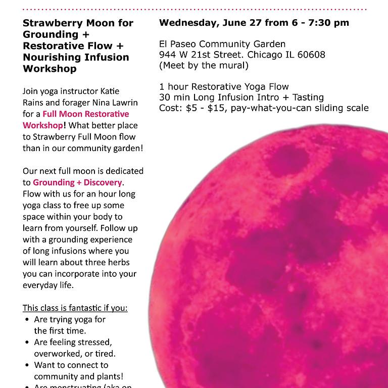 Full Moon Yoga +Infusion Workshop