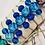 Thumbnail: Glass bead bracelet