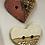 Thumbnail: Framed Heart ceramic buttons