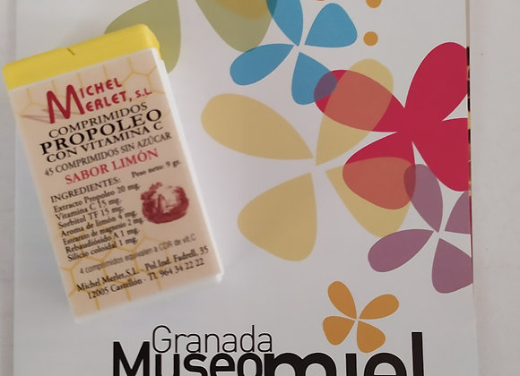 Comprimidos Propolis sabor Limón 9 g
