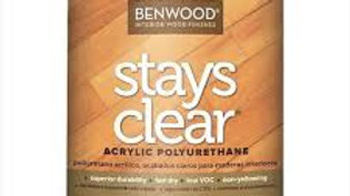 STAYS CLEAR®, premium coating, Acrylic Polyurethane - High Gloss