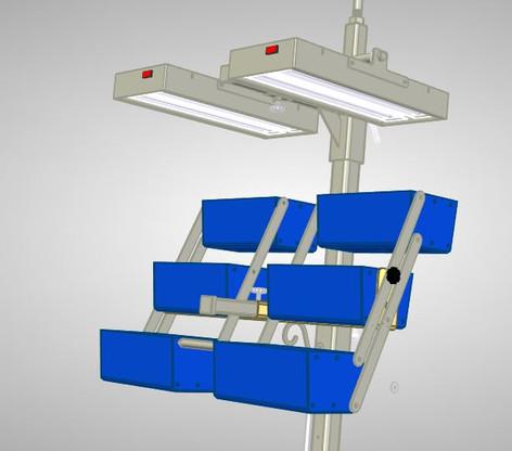 Hydroponic stand