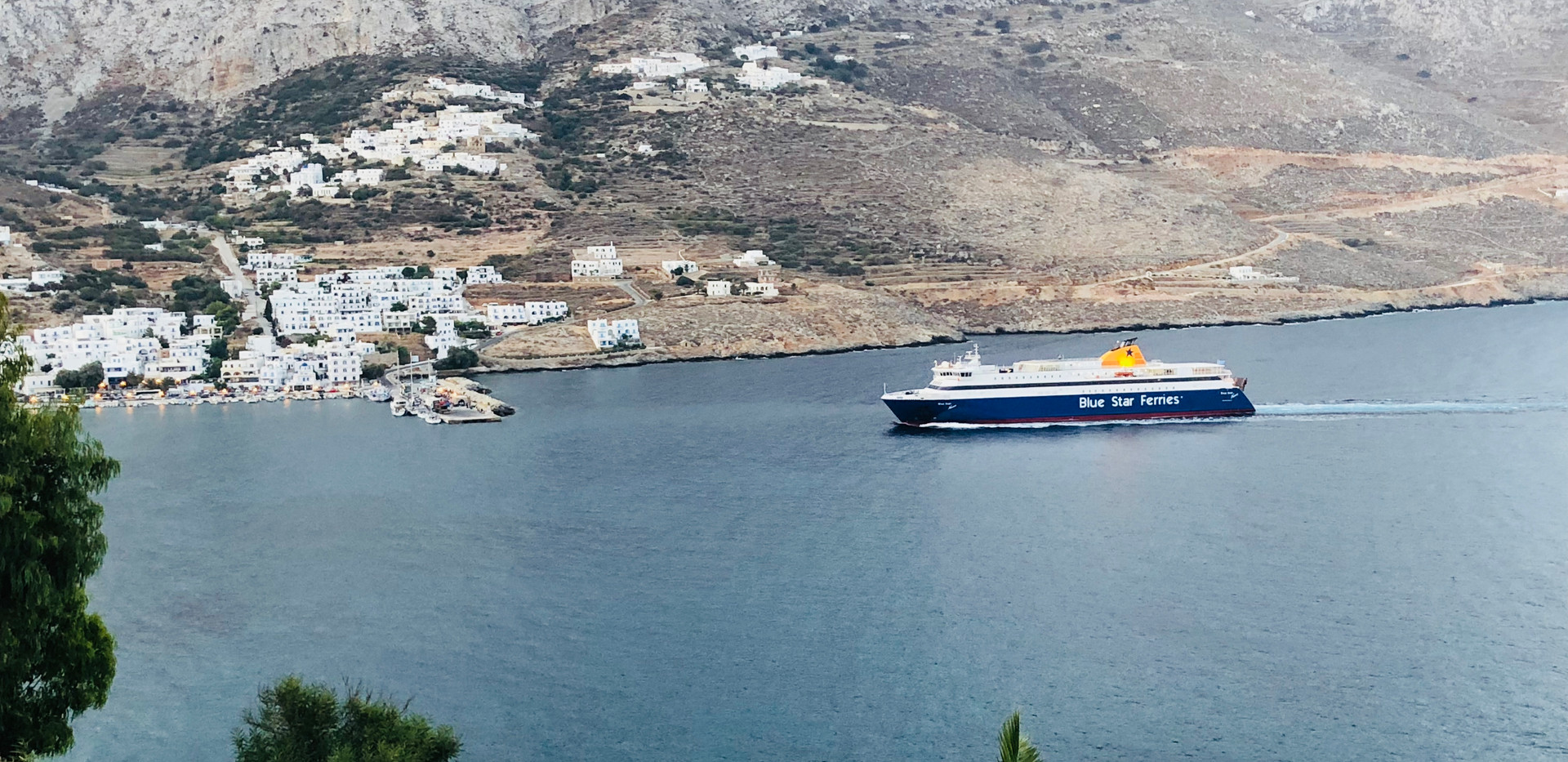 Aegiali Bay