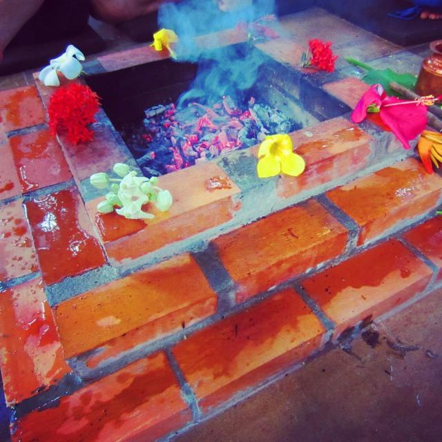 Fire ceremony