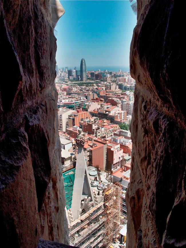 Barcelona from Gaudi