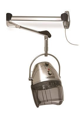 Secador casco modelo Géminis cromado 2 vel. 1000 Wat