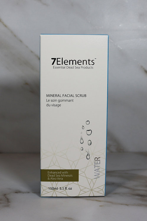 7Elements Dead Sea Mineral Face Scrub 150ml