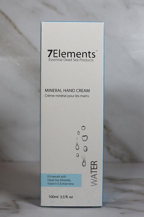 7Elements Dead Sea Mineral Hand Cream 100ml