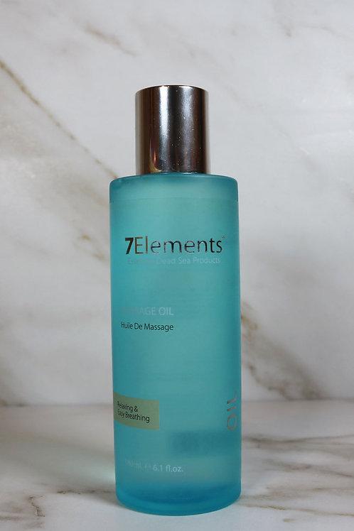 7Elements Dead Sea Massage Oil 180 ml