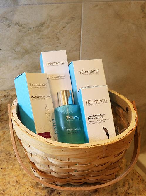 7Elements Dead Sea Minerals Medium Gift Basket