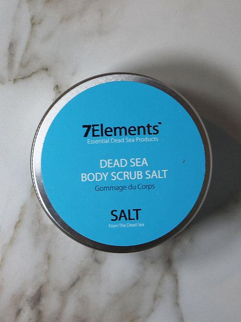 7Elements Dead Sea Body Scrub Salt 300g