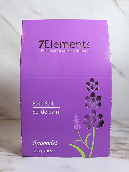 7Elements Dead Sea Bath Salt (Lavender) 250g