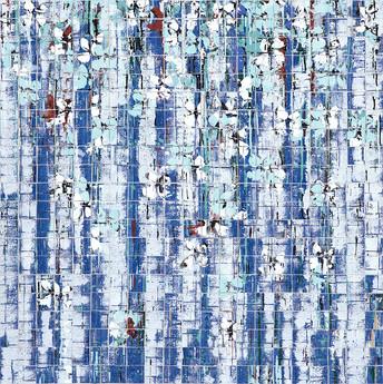 Blue & White, Mosaic Series, 2018