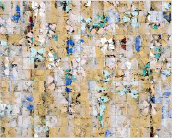 Cascade Gold II, Mosaic Series, 2018