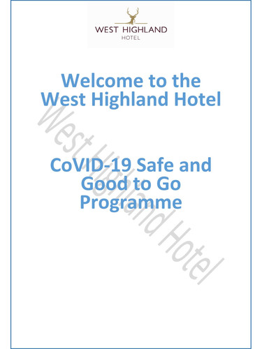 Covid 19 Safe and Good to Go Protocols d