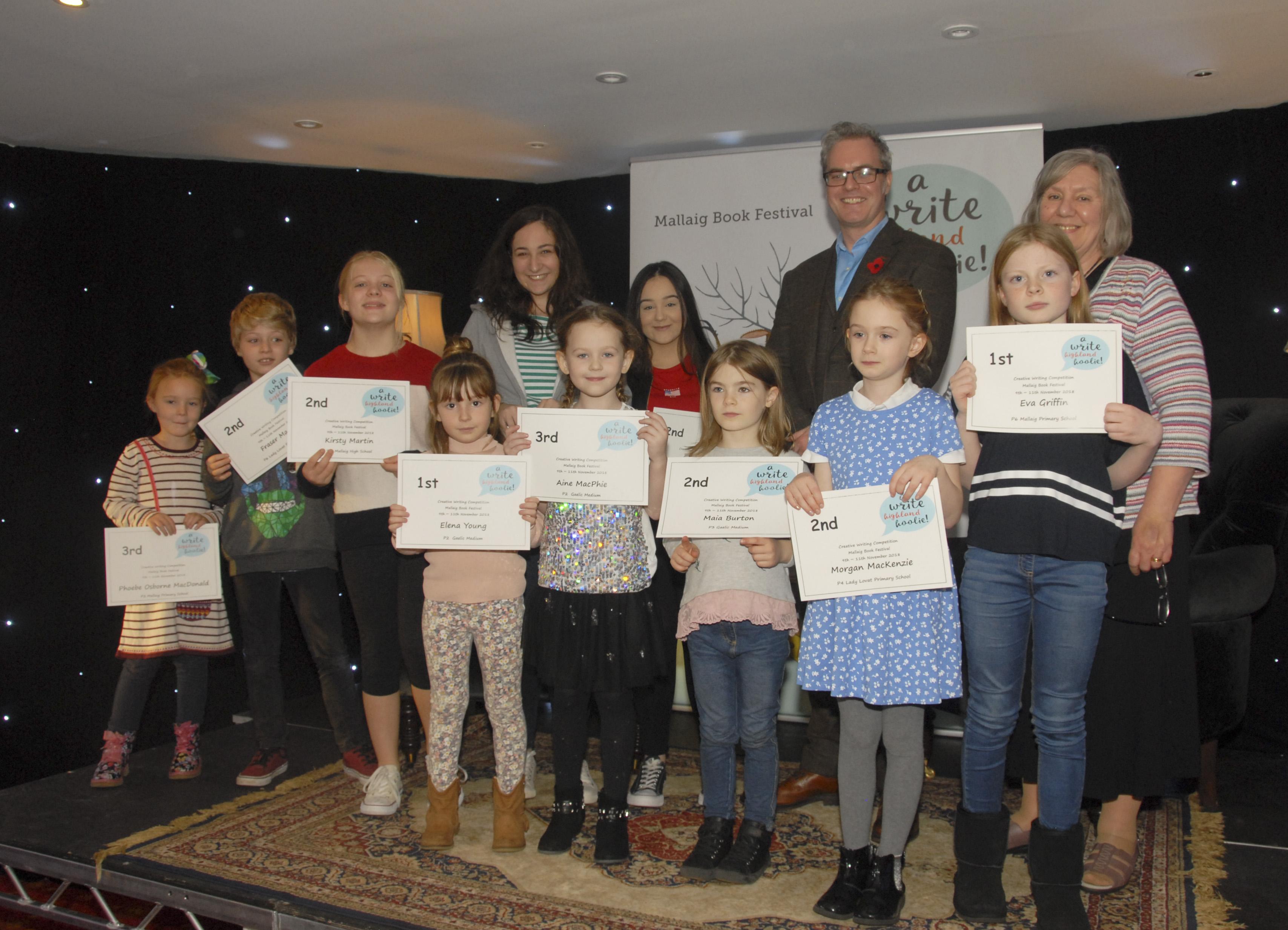 Prize winners 1