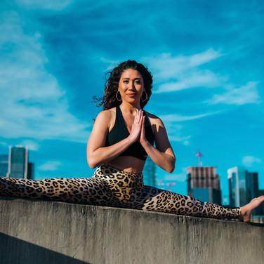 Coastal yoga