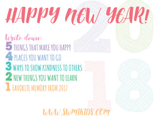 {Printable} Little Resolutions For The New Year