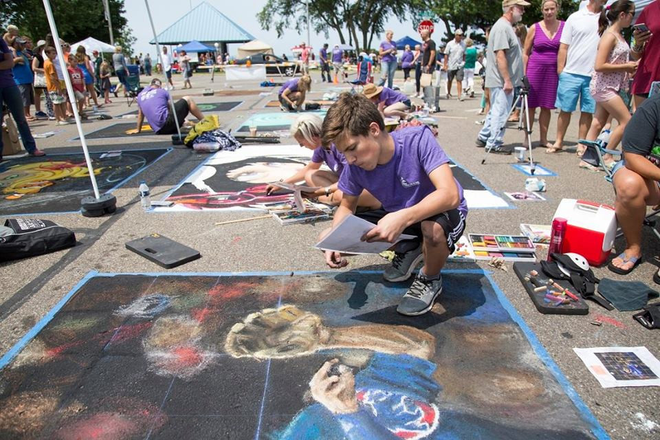 Chalk the Block | Southwest Michigan Kids