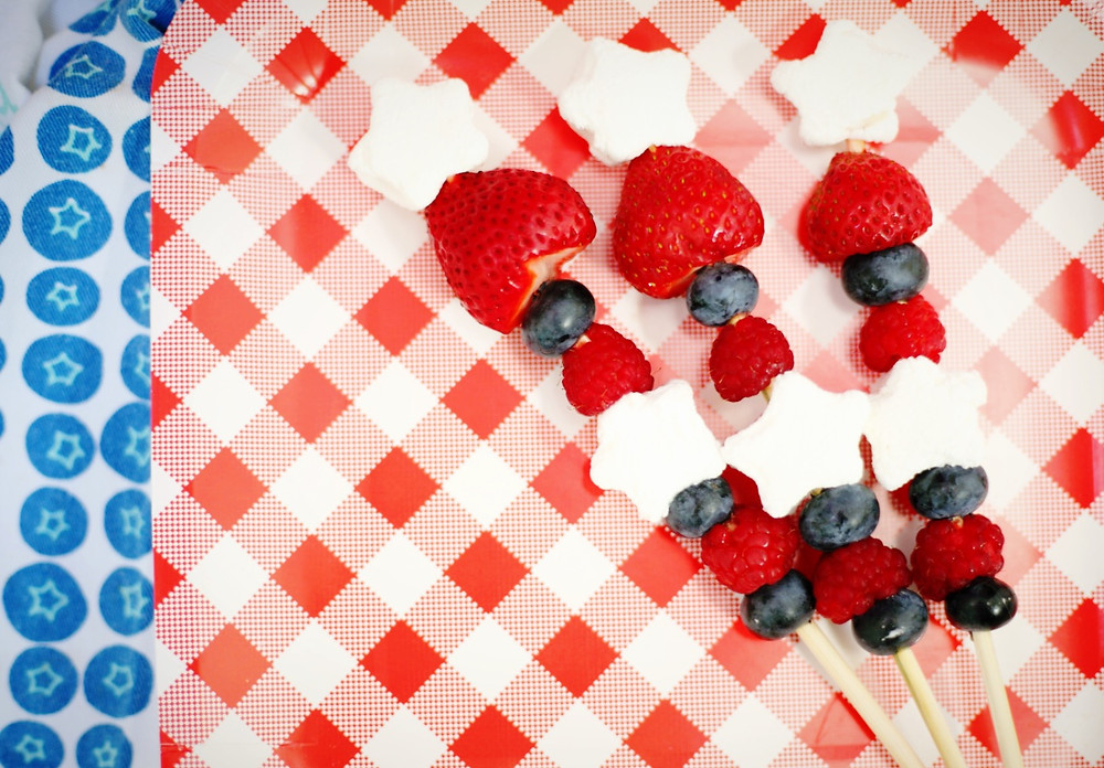 Fourth of July Fruit Skewers | Southwest Michigan Kids