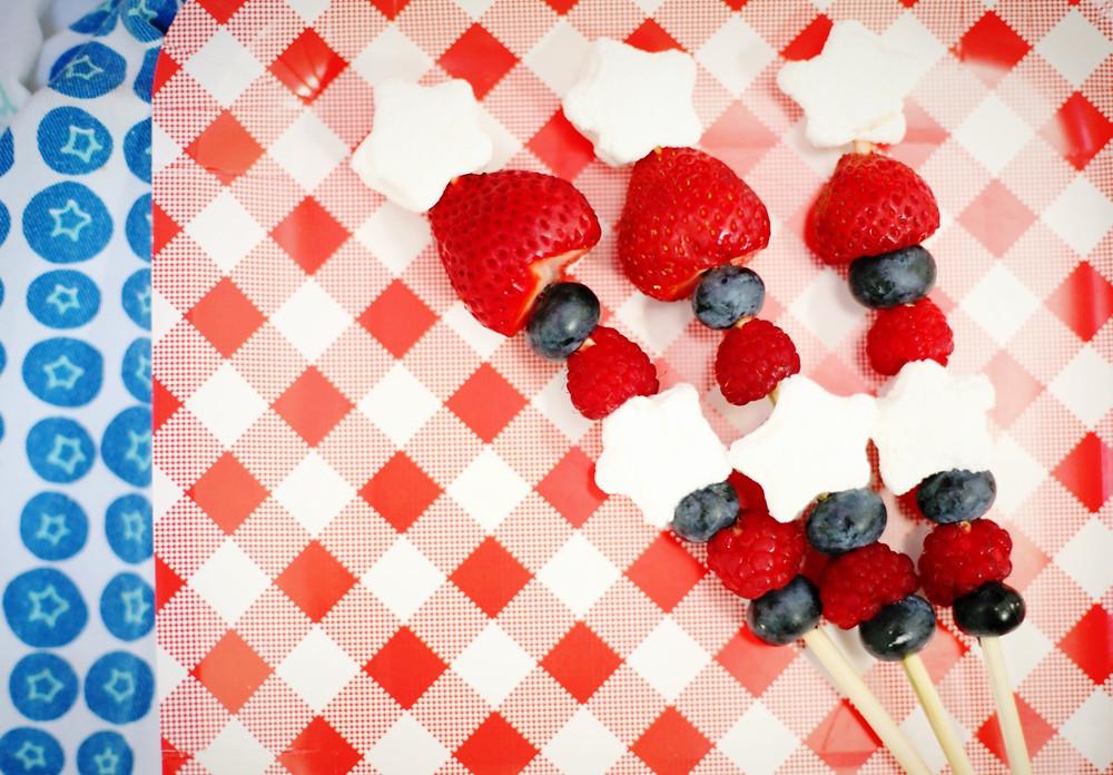 Fourth of July Fruit Skewers | Southwest Michigan Kids
