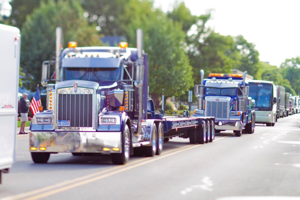 Labor Day Truck Parade | Southwest Michigan Kids