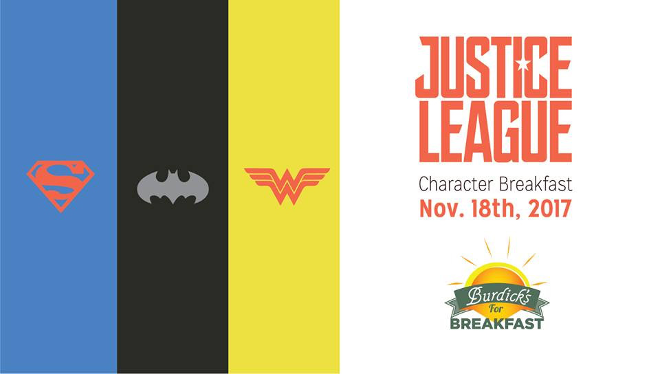 Justice League Breakfast | Southwest Michigan Kids