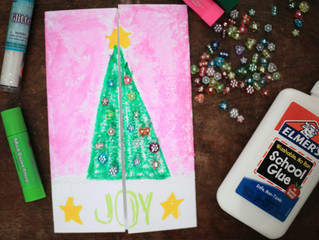Make These Adorable DIY Christmas Tree Cards Already