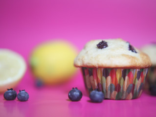 Recipe: Fluffy, Sky-High Blueberry Muffins