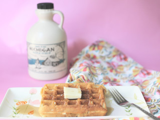 Recipe: Seriously Scrumptious, Ridiculously Easy Waffles
