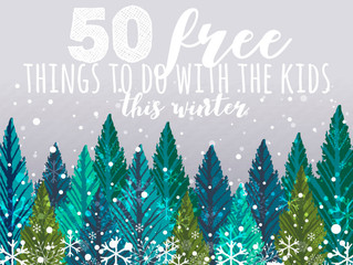 50 Free Things To Do With The Kids This Winter