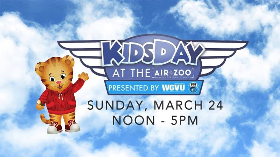 WGVU Kids Day at the Air Zoo | Southwest Michigan Kids