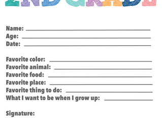 Back to School! Mark The Occasion With Our Free Printable